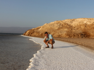 Djibouti Salt Sea